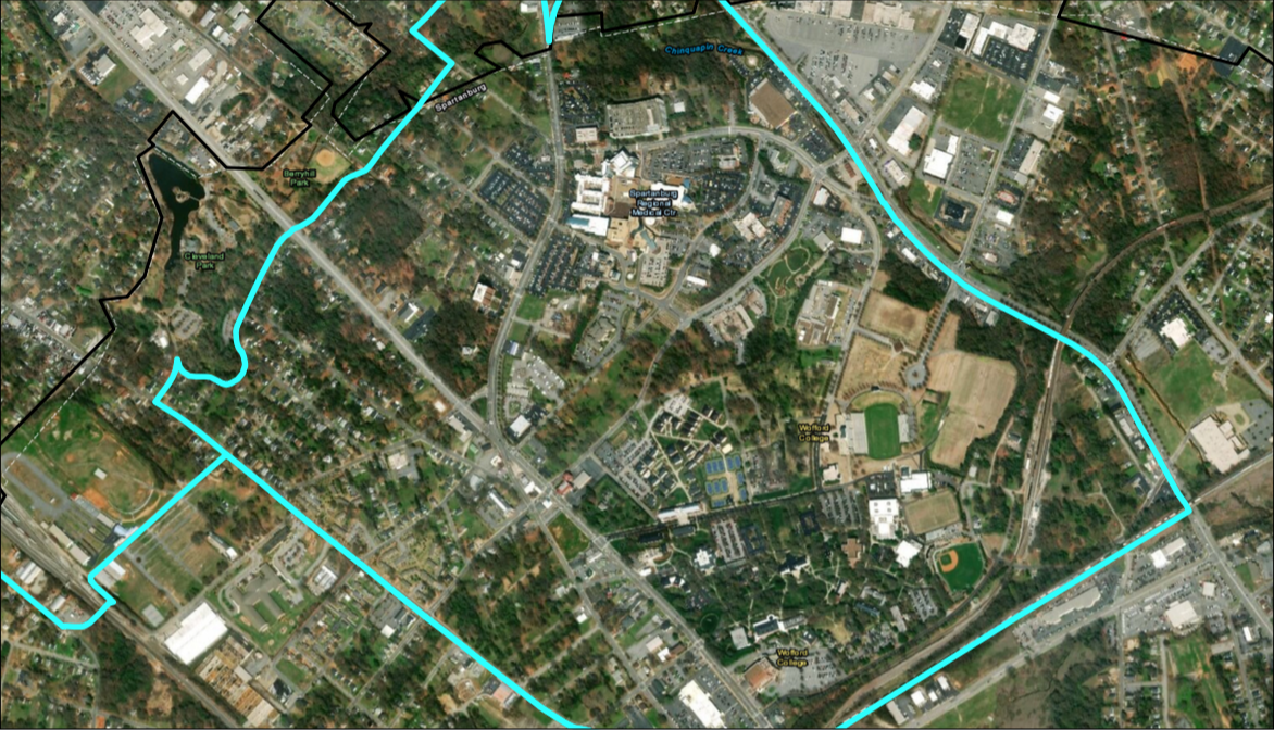 Hospital-Wofford Opportunity Zone