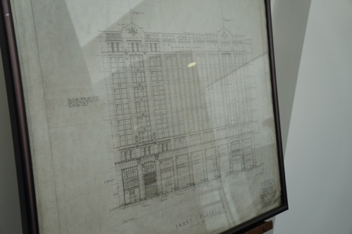 Montgomery Building front drawing