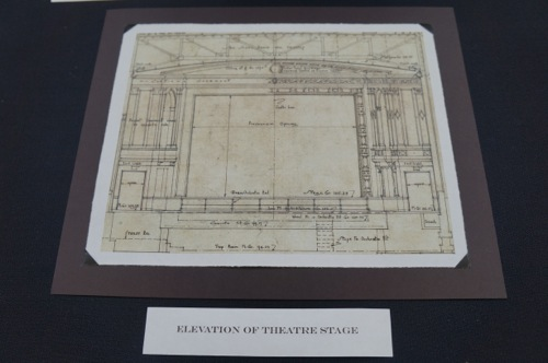 Montgomery Building Theater Stage drawing