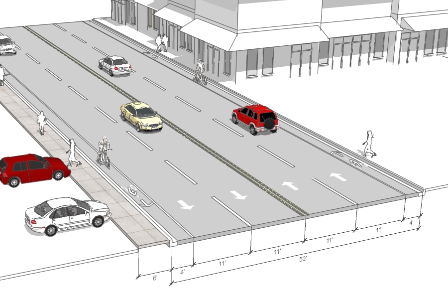 Union Street current drawing